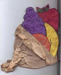 Thanksgiving activities: Cornucopia craft: Twist a lunch bag to make a quick, easy & awesome cornucopia. FREE printables.