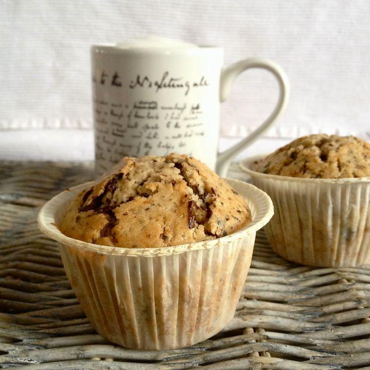 La Panificatrice Folle: Pioggia, cappuccino e l'american muffin perfetto!