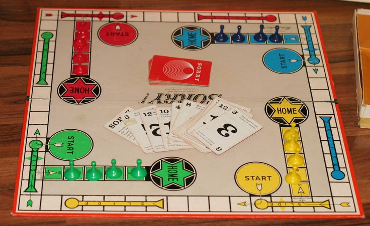 Sorry the board game, we used to have this me,my sis  brother used to play it on wet weekends ;-)