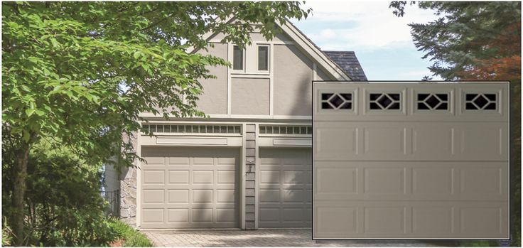 Thermacore® Insulated  Thermacore premium insulated steel garage doors feature between-section seals with thermal breaks to reduce air infiltration: Keep your home comfortable in cold or hot climates.