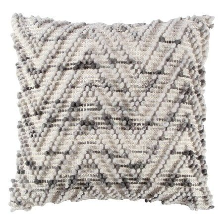 naturalgray chevron throw pillow 20