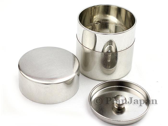 Handmade tin tea/spices canister