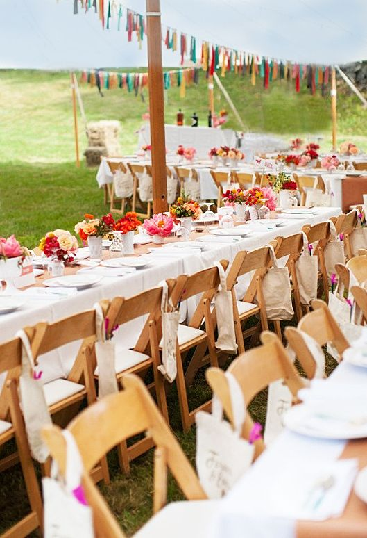 Casual Backyard Wedding Decoration Ideas : Casual Wedding Reception  Tie The Knot  Pinterest