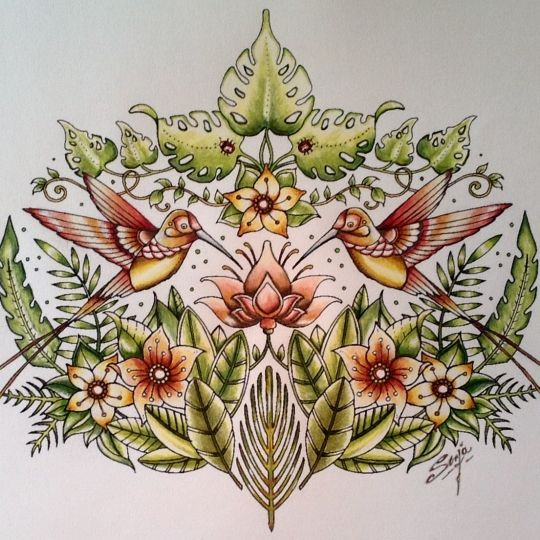 Johanna Basford | Picture by Sonja Royals | Colouring Gallery