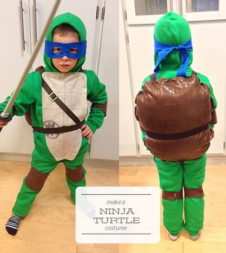 9 best sew ninja turtles images on pinterest ninja turtles diy show your allegiance to the most radical dudes around by making your own diy ninja turtle costume this halloween solutioingenieria Image collections