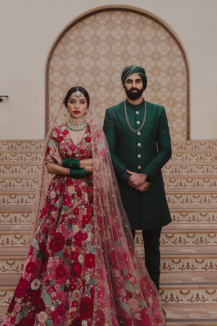 This Indian bride got married in the same Sabyasachi ...