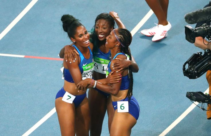 Girls Sports Month: Olympic gold medalist Brianna Rollins, 'No limits' when you believe in yourself     USA Today High School Sports