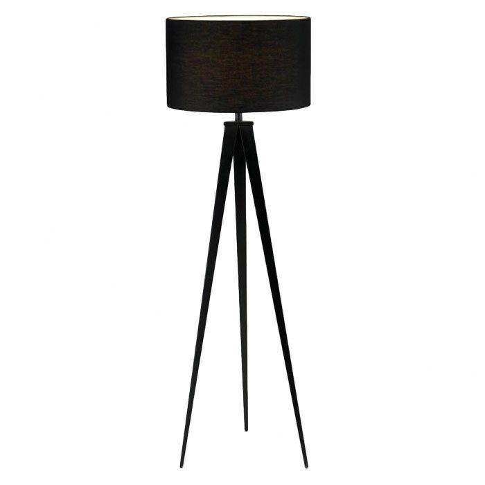 Adesso Director Floor Lamp. I love tripod lamps :)
