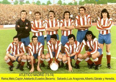 Foto Atletico de Madrid 1973/74