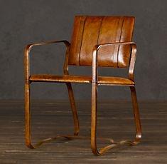 Buckle Chair Antique Chestnut. Restoration Hardware