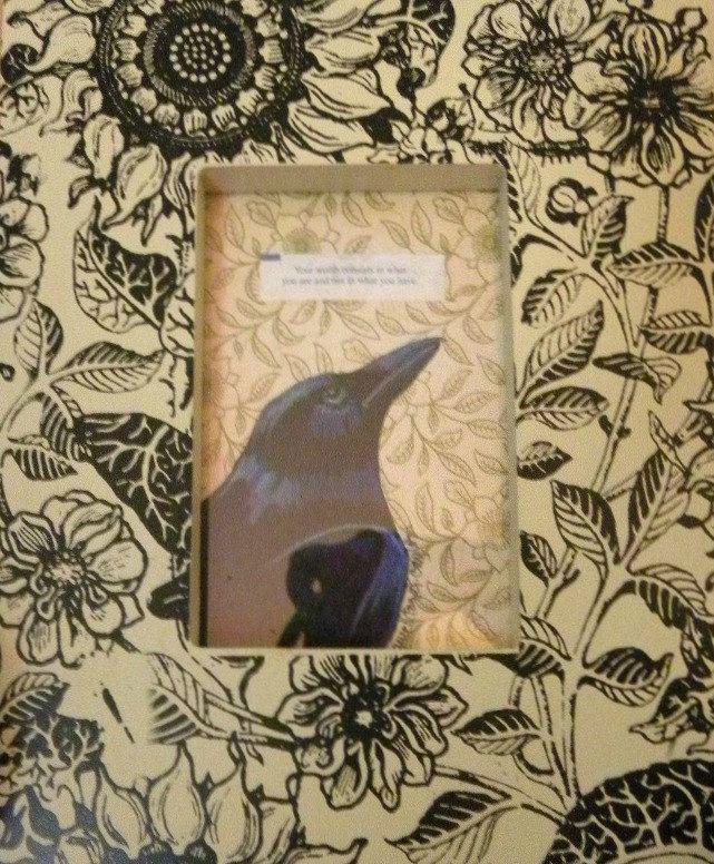 Verkoopprijs Fortune Cookie Raven originele ingelijste kunst door StudioLolo2 op Etsy https://www.etsy.com/nl/listing/204850620/verkoopprijs-fortune-cookie-raven