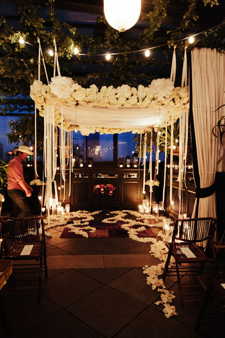 unusual wedding decor