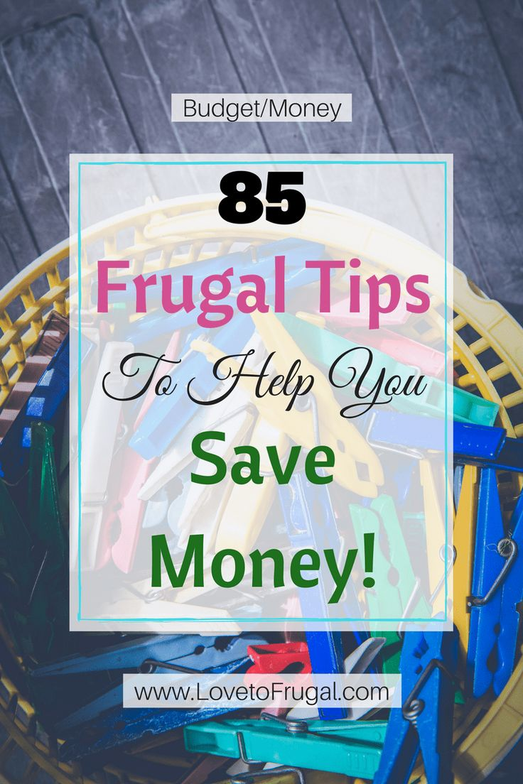 Frugal Tips To Help You Save Money  There's so many great tips and ideas in here!  #savingmoney #savemoney #frugal #frugaltips #frugalliving #savemomoney #savemoremoney #moneytips #stopwastingmoney #getoutofdebt #simplelifestyle