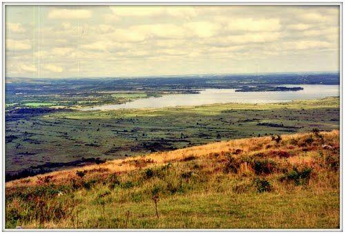 Le lac de Brennilis vu depuis la montagne Saint-Michel