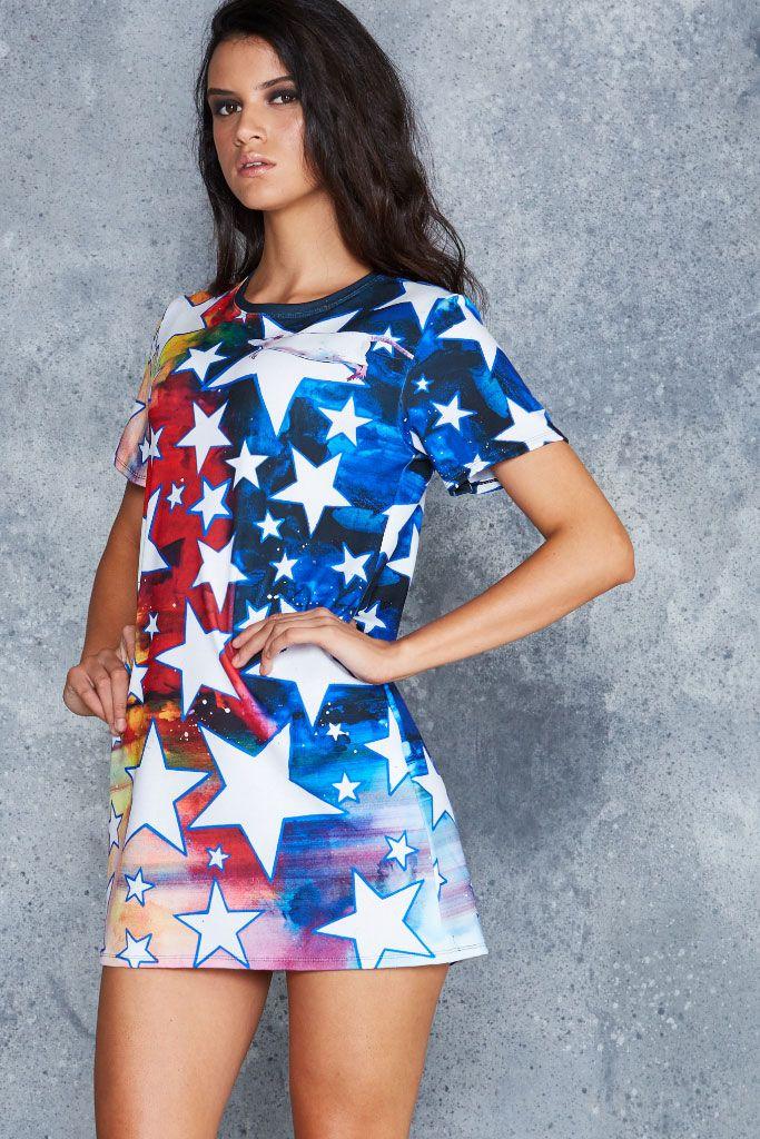 Starry Starry Rat Tee Dress - 48HR ($90AUD) ☆ XS & TWO XXS ☆