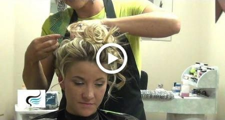(Soft Curly Updo) For Wedding  For Long Hairstyles Tutorial #hair #wedding #promhairupdotutorial