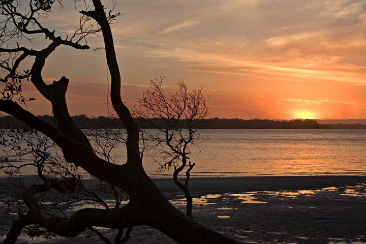 Sunset at Bribie Island