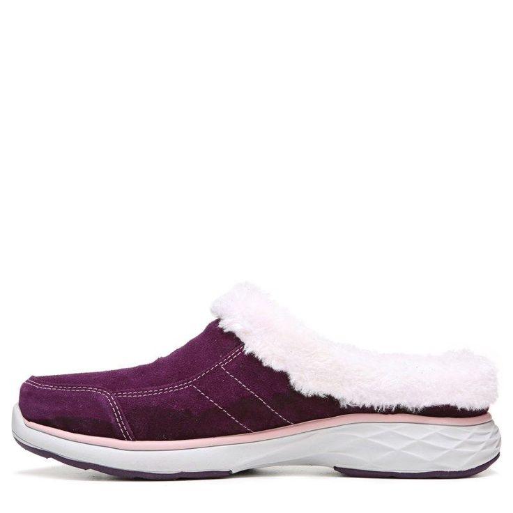 Ryka Women's Luxury Medium/Wide Mule Shoes (Plum/Pink)