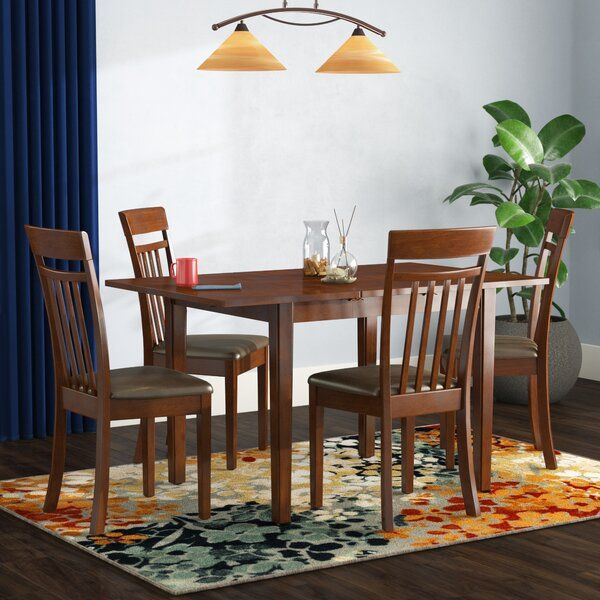 Andover Mills Antonio Butterfly Leaf Solid Wood Breakfast Nook Dining Set Reviews Wayfair Nook Dining Set Solid Wood Dining Set Dining Room Sets