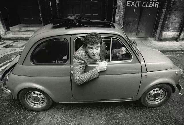 Jeremy Clarkson, in a mini?