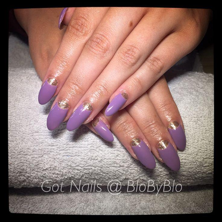 CND Shellac nail styles