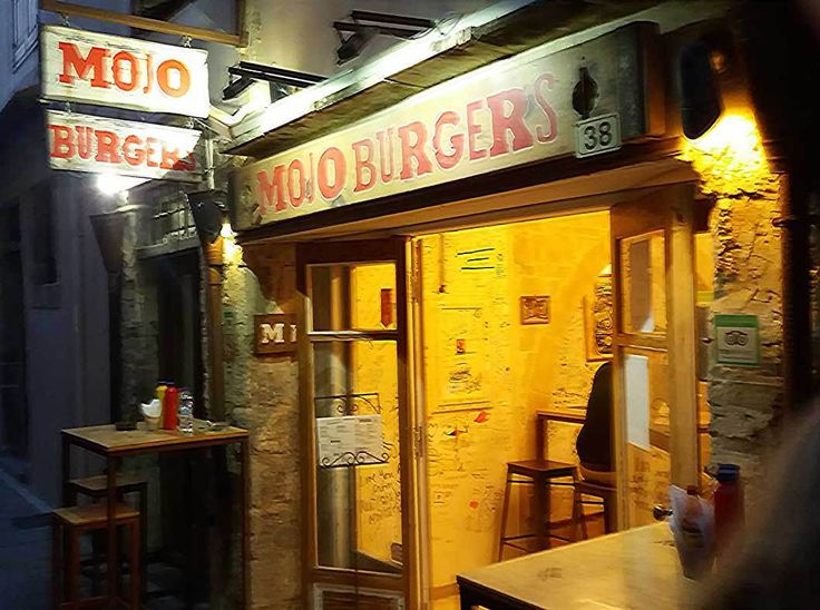 Mojo Burgers in Rethymno