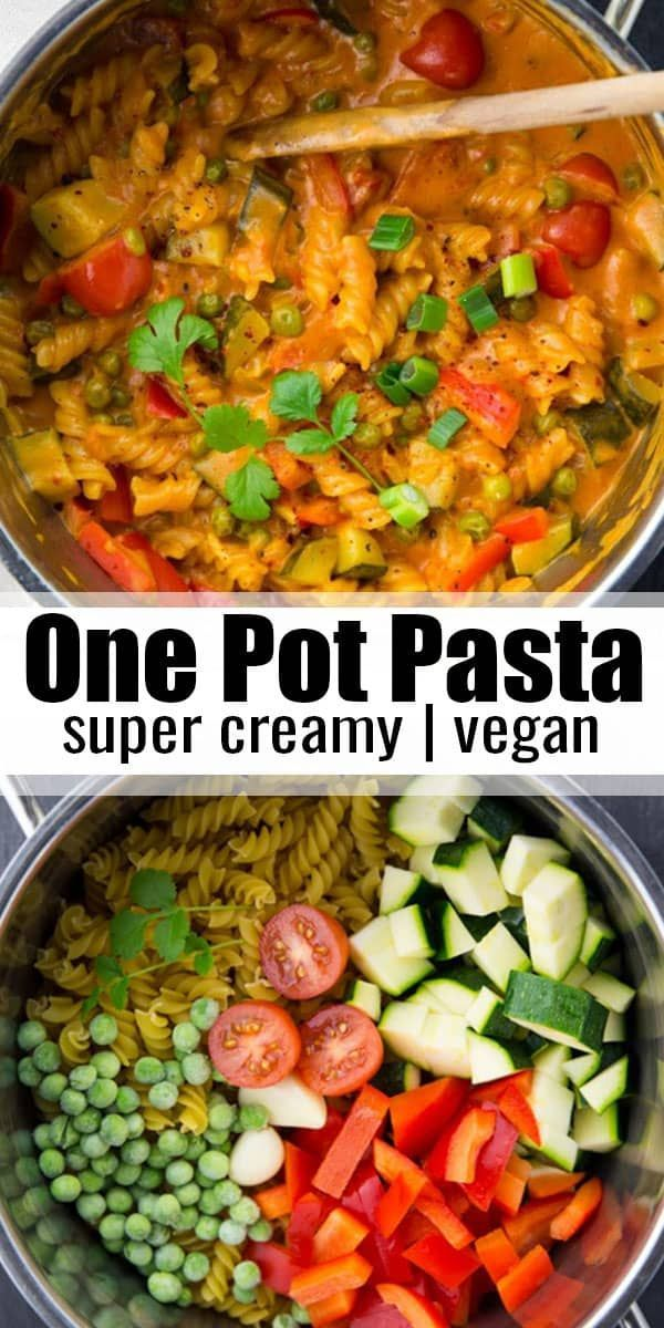 This Vegan One Pot Pasta Is One Of My Favorite Vegan Dinner