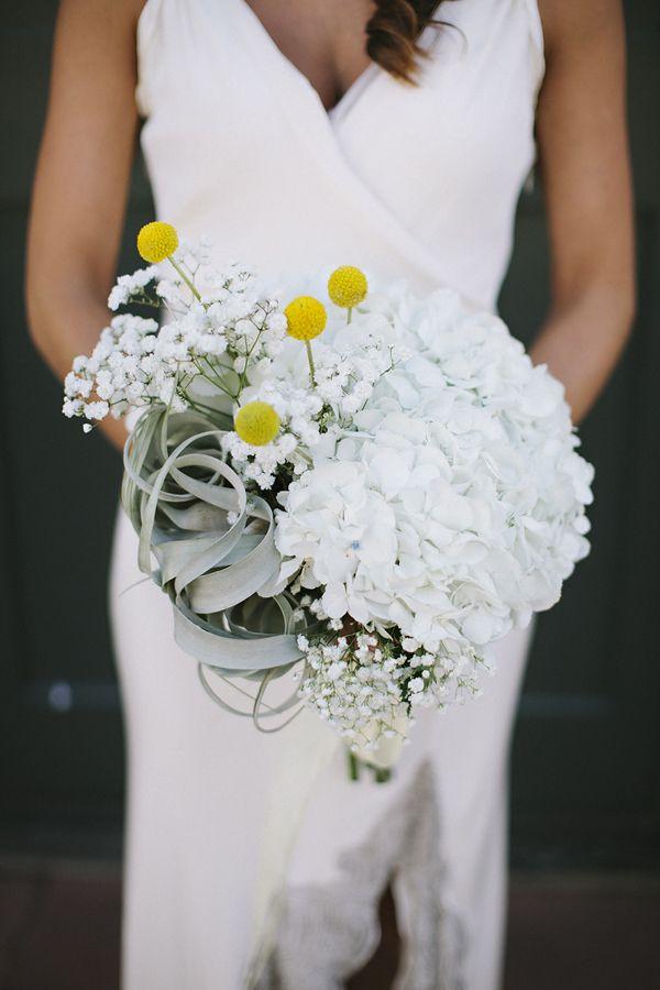 My Homemade Bridal Bouquet Giant White Hydrangeas Billy