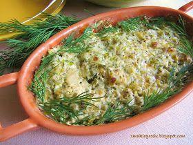 Ryba zapiekana w pysznym sosie koperkowo-porowym to pomysł na lekki i zdrowy obiad. Łatwa do przygotowania, aromatyczna i bardzo sma...