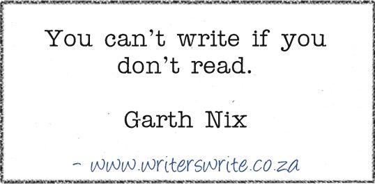 Quotable – Garth Nix - Writers Write