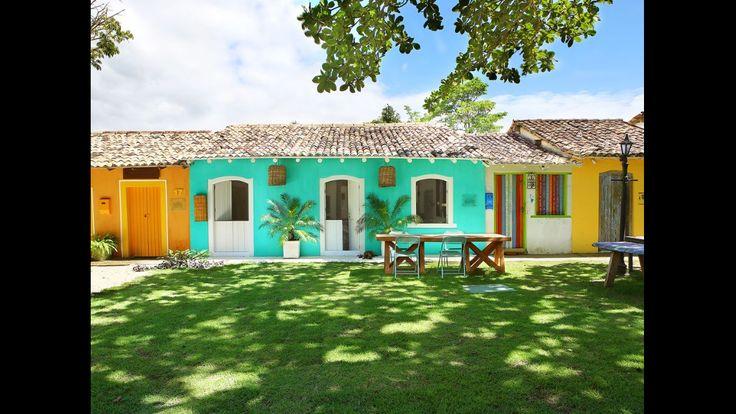 Pin de Victória Quaranta em casa de praia Casas, Bahia