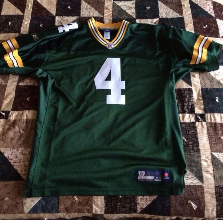 ... Authentic Reebok NFL Green Bay Packers Brett Favre Home Jersey Size 52  http Limited Mens ... de9f2b1b0