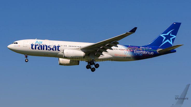 https://flic.kr/p/KhwrXT | Air Transat Airbus A330-3 C-GTSN | BRU/EBBR -- 20/07/2016