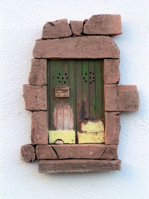 Typical portuguese Ceramic Door by thenatureofclay on Etsy