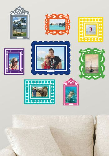 Frame of Deference Wall Decal Set, #ModCloth