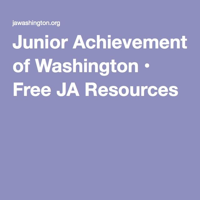 best junior achievement ideas enterprise  junior achievement of washington • ja resources