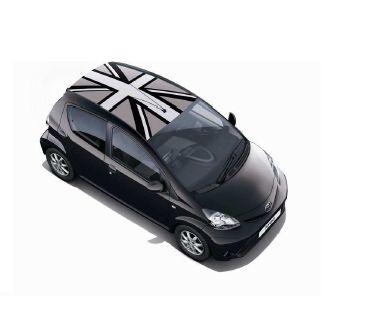 Toyota Aygo roof flag