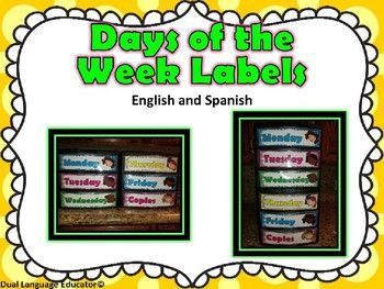 Days of the week organizer labels to print and paste on your own plastic organizers. This product consists of 6 Editable labels (Monday, Tuesday, Wednesday, Thursday, Friday and Copies) If you love to be organized as me you are going to love these labels.