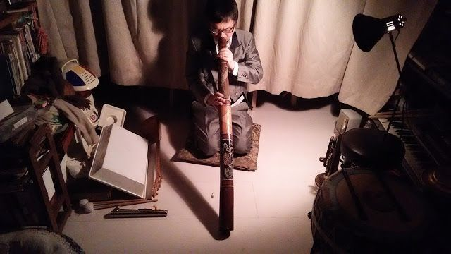 自宅録音研究所|Recording Audio At Home: 動画:Didgeridoo and Anvil - HomeRecording|自宅録音