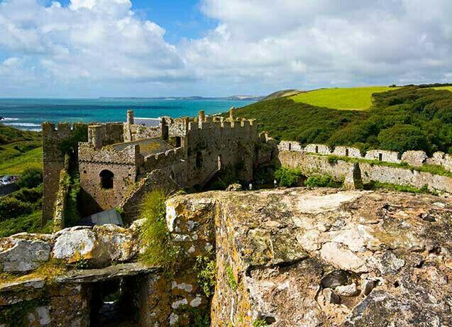 Manorbier Castle - Manorbier, Pembrokeshire