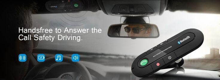 ANLUD <b>Bluetooth Handsfree Car Kit</b> Wireless <b>Bluetooth</b> Speaker ...
