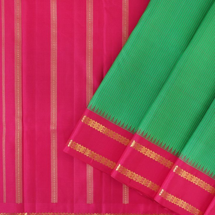 Kanakavalli Kanjivaram Silk Sari 100-01-25771