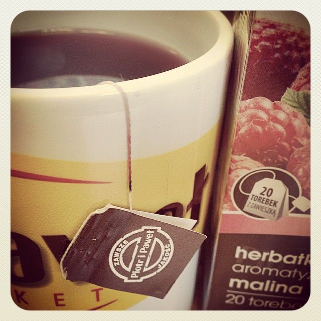 Co prawda mamy 700 rodzajów kaw i herbat... ale na mrozy nie ma jak malinowa!