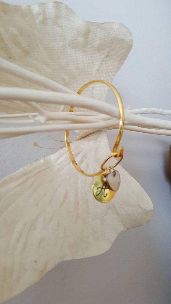 Bracelet personnalisé bracelet initiales bracelet par EliaCreaSoa