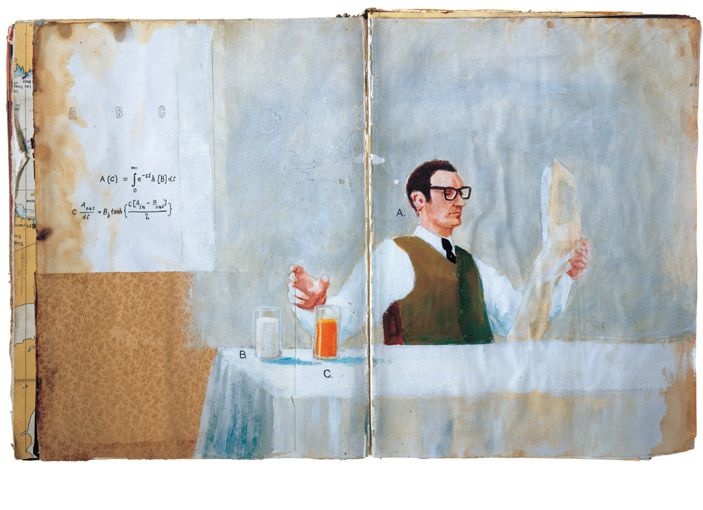 sketchbook project by oliver jeffers