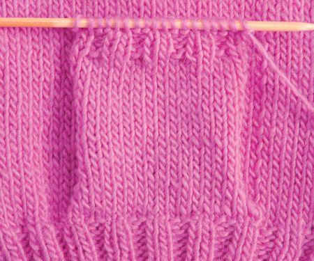 Tricoter une poche en relevant des mailles