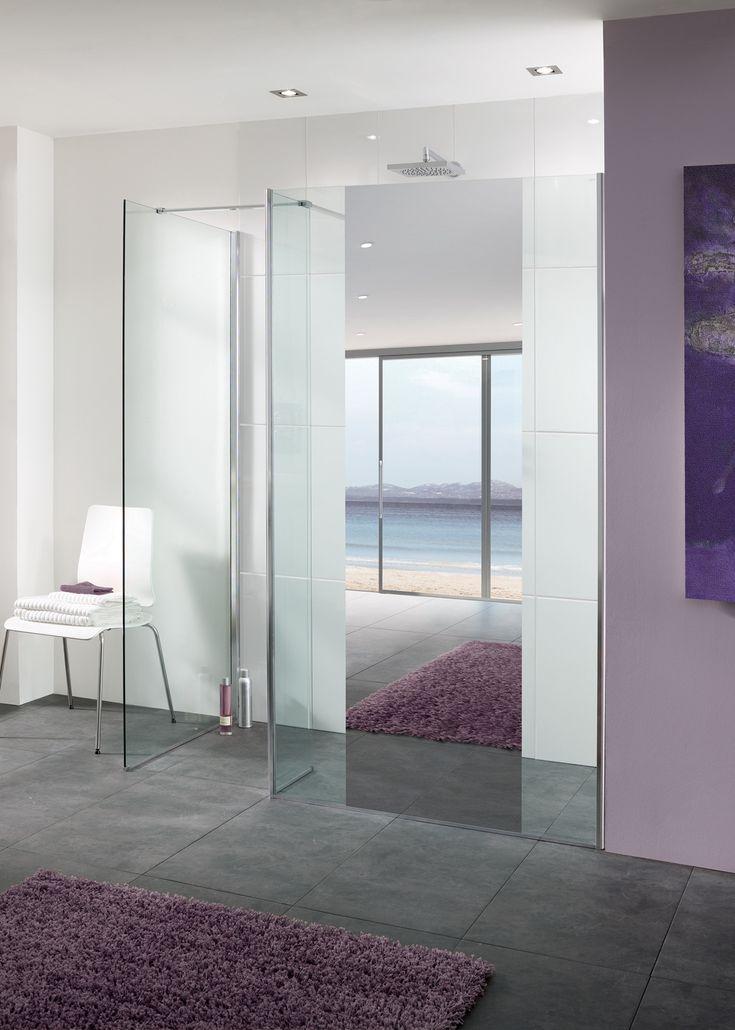 Mirror: Palma Walk In Shower Enclosure |  Lakes Bathrooms