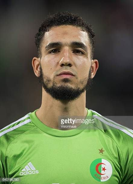 BENTALEB of Algeria during the Group B match between Senegal and Algeria at Stade Franceville on January 23 2017 in Franceville Gabon