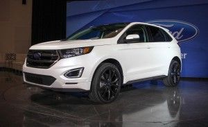 2015 Ford Edge sport price