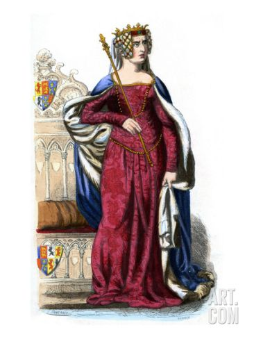 Philippa of Hainault was the Queen consort of Edward III of England ...